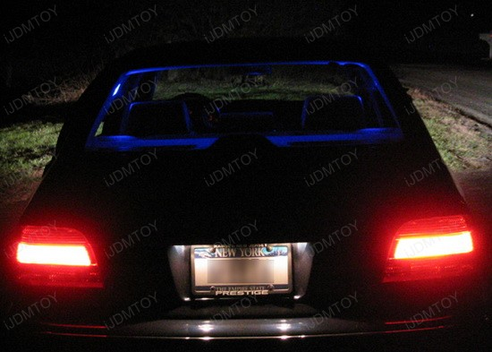 BMW - E39 - 525i - LED - car - interior - lights - 1
